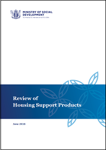 Review of Housing Support Products publication cover